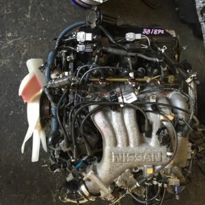 JDM Nissan Frontier VG33 RWD engine